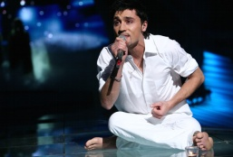 "Dima Bilan won the 2008 Eurovision song contest with the song ""Believe""."