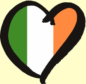 Irish Eurovision heart