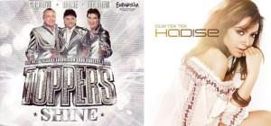 De Toppers - Shine and Hadise - Düm Tek Tek singles