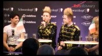Video: Jedward at Irish press conference