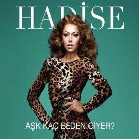 Hadise - Aşk Kaç Beden Giyer (Album cover)