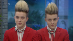 Jedward in the Big Brother house