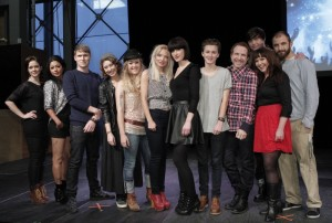 All the participating artist in Dansk Melodi Grand Prix 2012