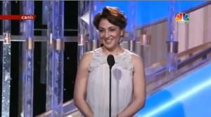 Meltem Cumbul at Golden Globe Awards