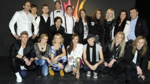 The participants of the fourth Swedish heat 2012