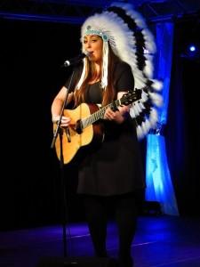 Joan Franka at Melodifestivalen OGAE Swedens convention 2012 © Tommy Engström