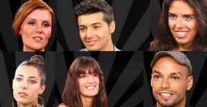 Eurovision artists at La Voz
