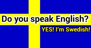 Sweden tops list of English language skills