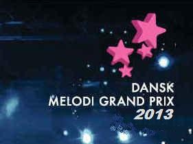 Dansk Melodi Grand Prix 2013 logo
