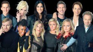 Melodifestivalen 2013 - 1st heat © SVT