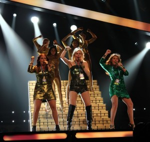 Swedish House Wives rehearses in Gothenburg