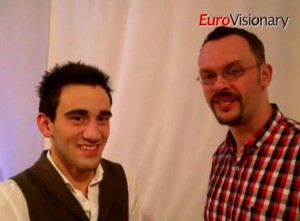 Gianluca Bezzina interviewed by EuroVisionary's John Stanton