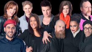 The participants of the fourth Swedish heat © SVT