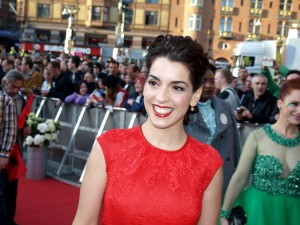 Ruth Lorenzo on the red carpet for the Eurovision Song Contest 2014