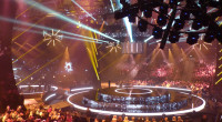 The stage for Melodi Grand Prix 2015