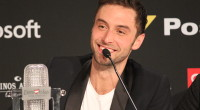 Måns Zelmerlöw at the winners press conference