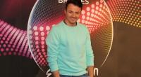 Daniel Kajmakoski representing F.Y.R. Macedonia at the 2015 Eurovision Song Contest