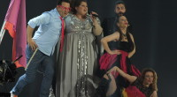 Bojana Stamenov representing Serbia at the Eurovision Song Contest 2015