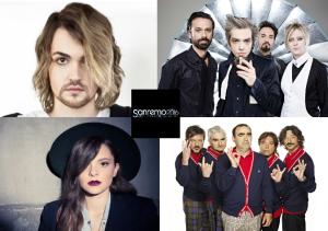 Sanremo 2016 (Valerio Scanu, Morgan & Bluvertigo, Francesca Michielin, Elio e le Storie Tese)