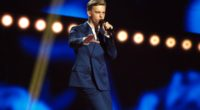 The second rehearsal of Jüri Pootsmann representing Estonia at the Eurovision Song Contest 2016