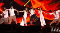 Argo representing Greece at the 2016 Eurovision Song Contest