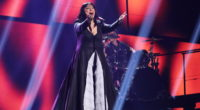 The second rehearsal of Kaliopi representing F.Y.R. Macedonia at the Eurovision Song Contest 2016