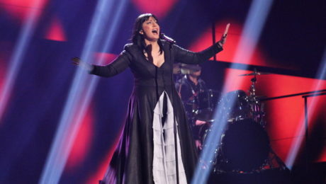 Kaliopi representing F.Y.R. Macedonia at the Eurovision Song Contest 2016