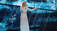 Agnete representing Norway at the Eurovision Song Contest 2016
