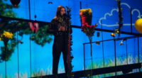 The second rehearsal of Francesca Michielin representing Italy at the Eurovision Song Contest 2016