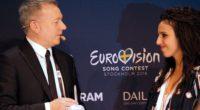 EBU's Jon Ola Sand and 2016 Eurovision winner Jamala
