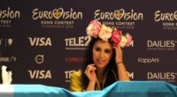 Jamala at the press conference after second semi-final, Eurovision 2016