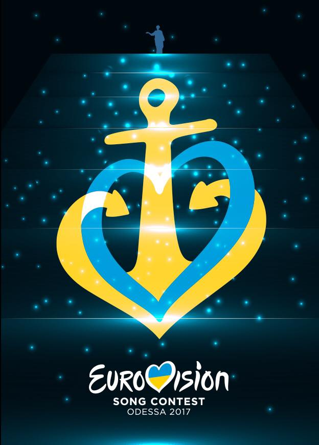 Ancher, is the official logo for Eurovision 2017 Odessa's proposal