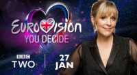 Mel Giedroyc will present British selection Eurovision: You Decide.
