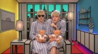 Jedward in the diary room during the shopping task