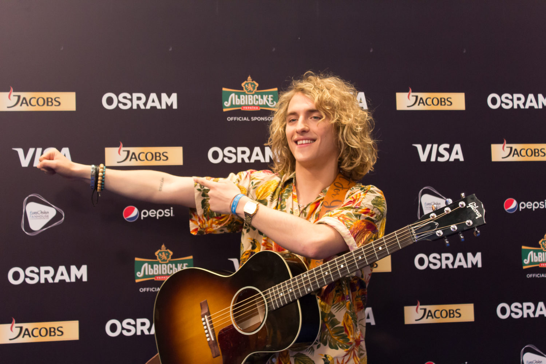 Eurovision  Manel Green Room Imagenes