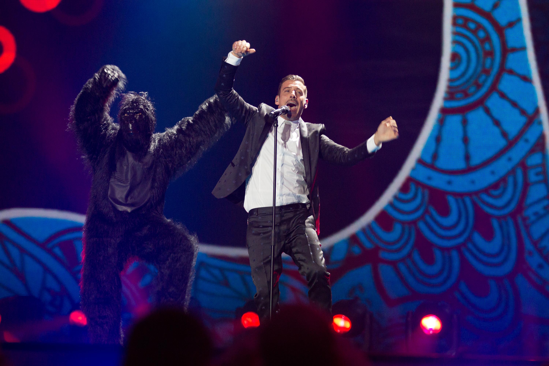 Risultati immagini per eurovision gabbani
