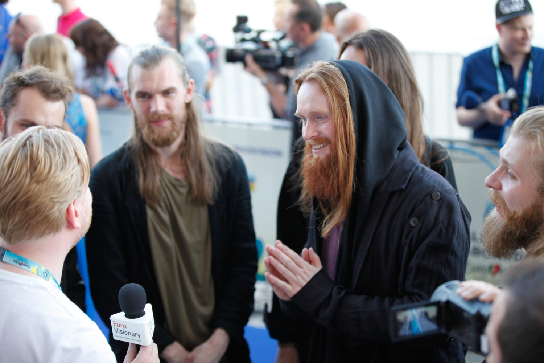 Interviews From Blue Carpet Eurovisionary Eurovision